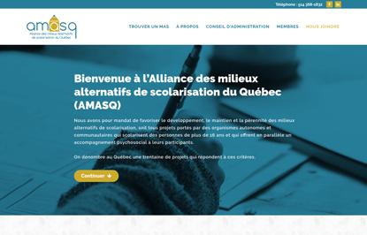 AMASQ - Alliance des Milieux Alternatifs de Scolarisation du Québec