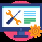 Votre site est construit avec un service offert en ligne